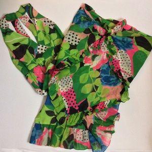 Dresses & Skirts - Vintage Maxi Dress with Shawl